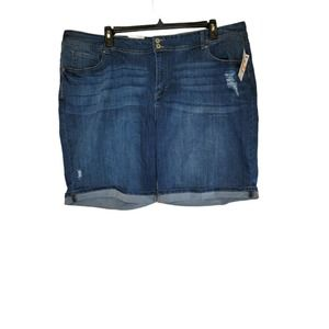 Style & Co Womens Distressed Cuff Shorts
